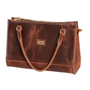 deluxe leather purse