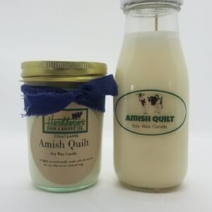 Amish Quilt Soy Wax Candles