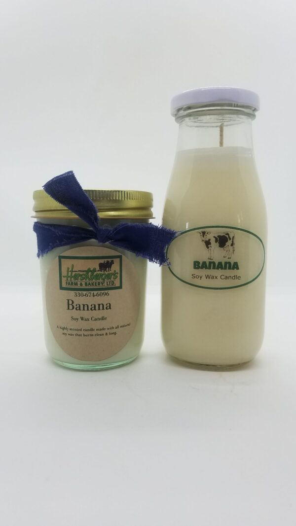 Banana Soy Wax Candles