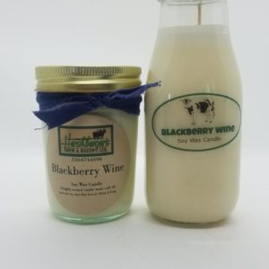 Blackberry Wine Soy Wax Candles
