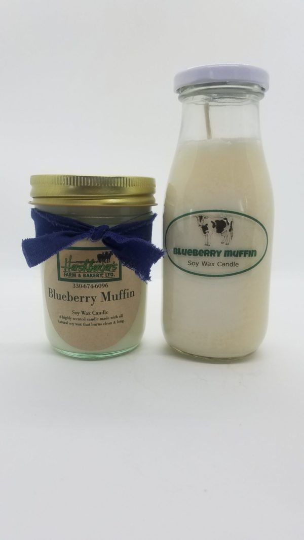 Blueberry Muffin Soy Wax Candles