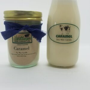 Caramel Soy Wax Candles