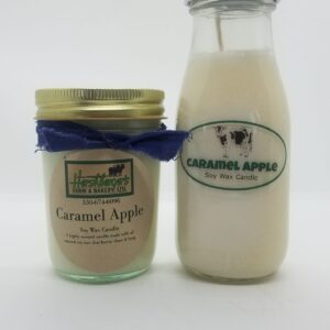 Carmel Apple Soy Wax Candles