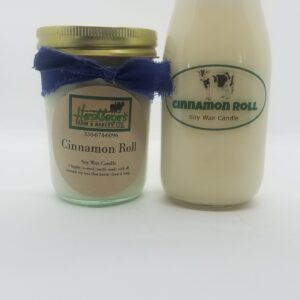 Cinnamon Roll Soy Wax Candles