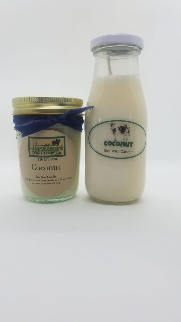 Coconut Soy Wax Candles