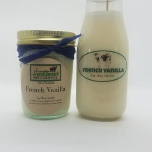 French Vanilla Soy Wax Candles