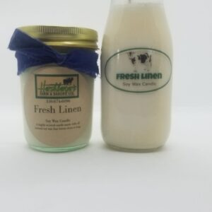 Fresh Linen Soy Wax Candles