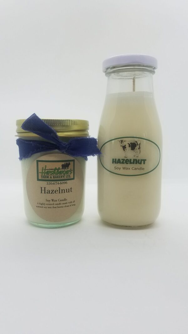 Hazelnut Soy Wax Candles