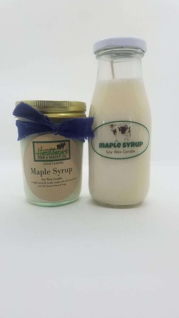 Maple Syrup Soy Wax Candles