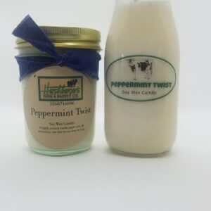Peppermint Twist Soy Wax Candles