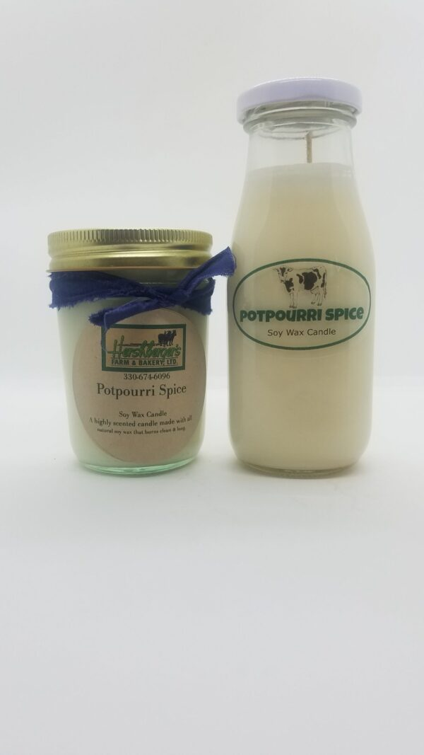 Potpourri Spice Soy Wax Candles