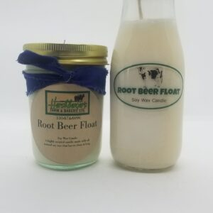 Root Beer Float Soy Wax Candles