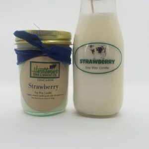 Strawberry Soy Wax Candles