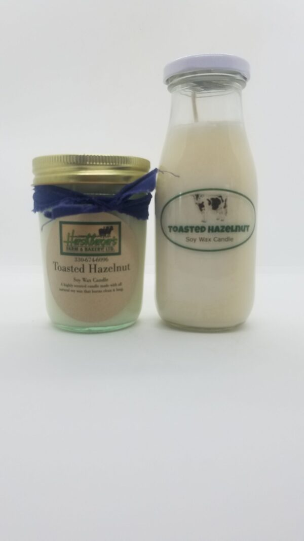 Toasted Hazelnut Soy Wax Candles