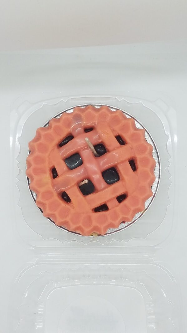 Blueberry Soy Wax Pie Candle