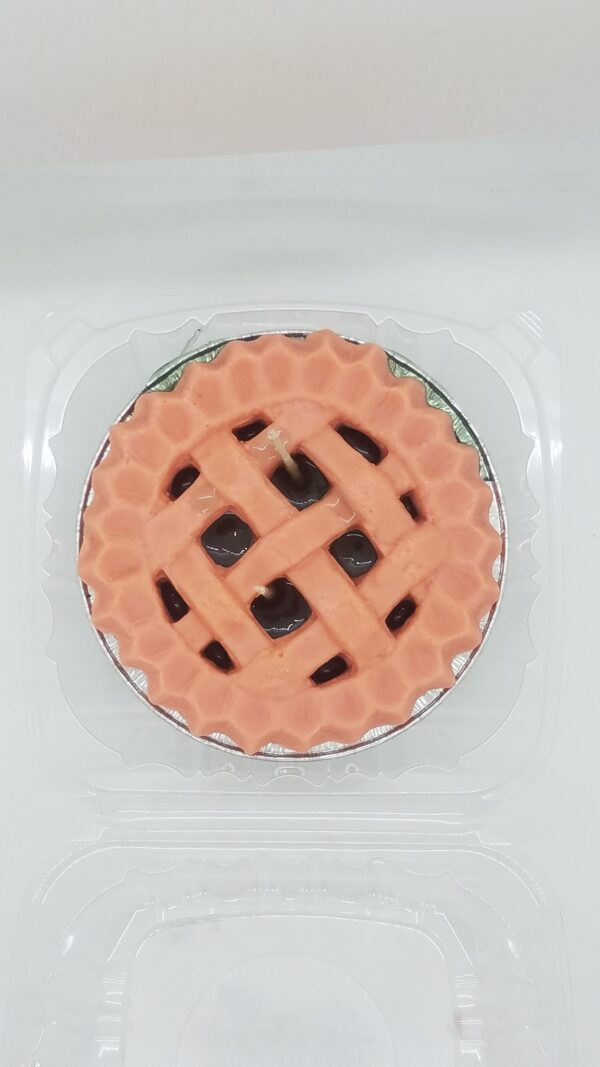 Blackberry Soy Wax Pie Candle