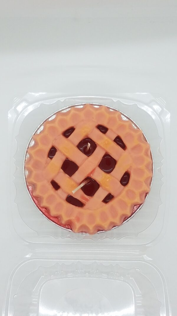 Cherry Soy Wax Pie Candle